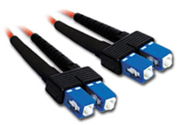 Product image for Comsol 10m SC-SC Multi-Mode Duplex Fibre Patch Cable LSZH 62.5/125 OM1 | AusPCMarket Australia