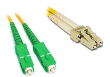 Product image for Comsol 10m SCA-LC Single-Mode Duplex Fibre Patch Cable LSZH 9/125 OS2 | AusPCMarket Australia