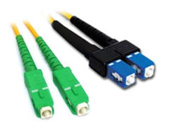 Product image for Comsol 10m SCA-SC Single-Mode Duplex Fibre Patch Cable LSZH 9/125 OS2 | AusPCMarket Australia