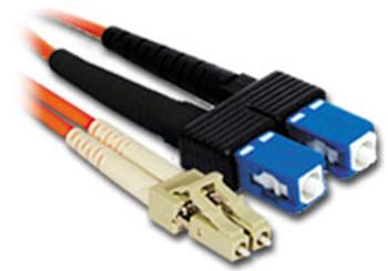 Product image for Comsol 15m LC-SC Multi-Mode Duplex Fibre Patch Cable LSZH 62.5/125 OM1 | AusPCMarket Australia