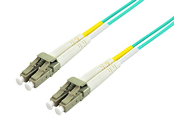 Product image for Comsol 1m LC-LC Multi-Mode Duplex Fibre Patch Cable LSZH 50/125 OM3 | AusPCMarket Australia