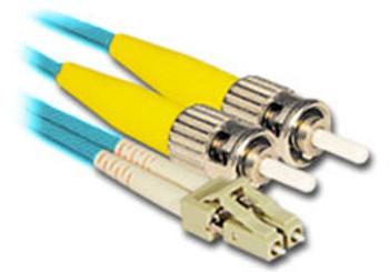 Product image for Comsol 1m LC-ST Multi-Mode Duplex Fibre Patch Cable LSZH 50/125 OM4   AusPCMarket Australia