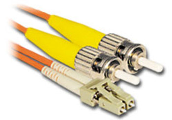 Product image for Comsol 1m LC-ST Multi-Mode Duplex Fibre Patch Cable LSZH 62.5/125 OM1 | AusPCMarket Australia