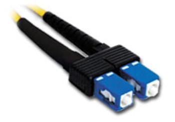 Product image for Comsol 1m SC-SC Single-Mode Duplex Fibre Patch Cable LSZH 9/125 OS2 | AusPCMarket Australia