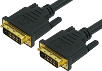 Product image for Comsol 1m DVI-D Digital Dual Link Cable - Male to Male | AusPCMarket Australia