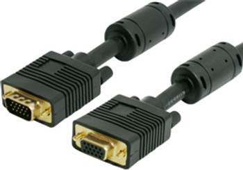 Product image for Comsol 15m VGA Extension Cable 15 Pin Male to 15 Pin Female | AusPCMarket.com.au