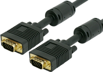 Product image for Comsol 15m VGA Monitor Cable 15 Pin Male to 15 Pin Male | AusPCMarket.com.au