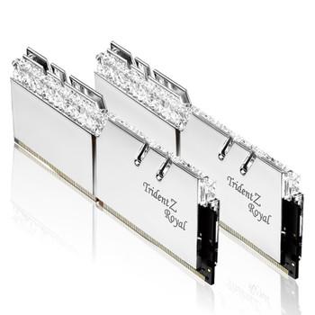 G.Skill Trident Z RGB Royal 32GB (2x 16GB) DDR4 CL19 3600MHz Memory - Silver Product Image 2