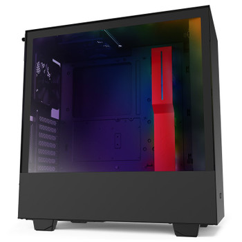 Product image for NZXT H510i Smart Mid Tower Case Matte Red/Black   AusPCMarket Australia