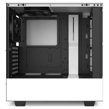 NZXT H510i Smart Mid Tower Case Matte White/Black Product Image 2