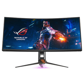 Asus ROG PG35VQ UWQHD 200hz G-Sync QLED HDR FALD 35in Monitor Product Image 2