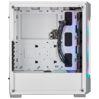 Corsair iCUE 220T RGB Airflow TG Mid Tower Case White Product Image 2