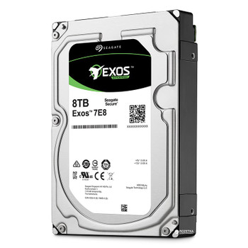 Product image for Seagate 8TB Exos 7E8 3.5in 512e SATA Secure Enterprise Hard Drive   AusPCMarket Australia