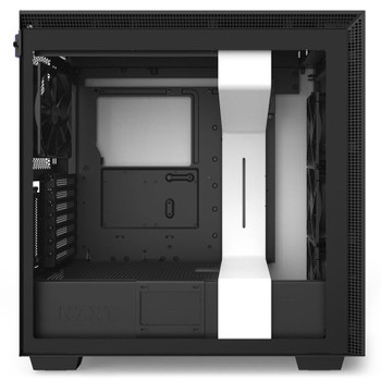 NZXT H710i Smart Tempered Glass Mid-Tower E-ATX Case - Matte White Product Image 2
