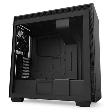 Product image for NZXT H710 Tempered Glass Mid-Tower E-ATX Case - Matte Black | AusPCMarket Australia