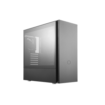 Product image for Cooler Master Silencio S600 Silent Tempered Glass Case | AusPCMarket Australia