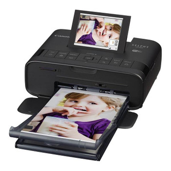 Product image for Canon Selphy CP1300BK A4 Colour Wireless Portable Inkjet Printer - Black | AusPCMarket Australia