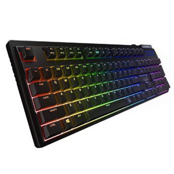 Product image for Asus Cerberus Mechanical RGB Gaming Keyboard - Kaihua Switch Red | AusPCMarket.com.au