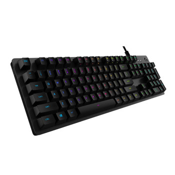 Product image for Logitech G512 Carbon RGB Mechanical Gaming Keyboard - GX Blue | AusPCMarket Australia