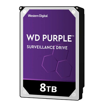 Product image for Western Digital WD WD82PURZ 8TB Purple 3.5in SATA3 Surveillance Hard Drive | AusPCMarket Australia
