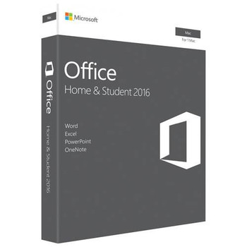 Product image for Microsoft Office Home and Student 2016 for Mac - 1 MAC - Retail | AusPCMarket Australia