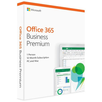 Product image for Microsoft Office 365 2019 Business Premium 1 Year Licence - Medialess Retail | AusPCMarket Australia