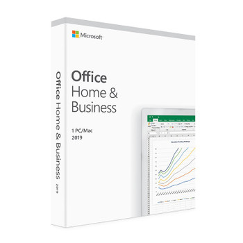 Product image for Microsoft Office 2019 Home and Business - Medialess Retail | AusPCMarket Australia