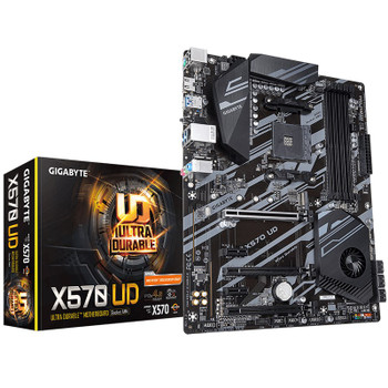 Product image for Gigabyte X570 UD AM4 ATX Motherboard | AusPCMarket Australia