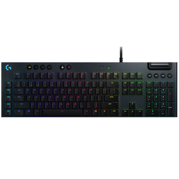 Product image for Logitech G815 LIGHTSYNC RGB Mechanical Gaming Keyboard - GL Linear | AusPCMarket Australia