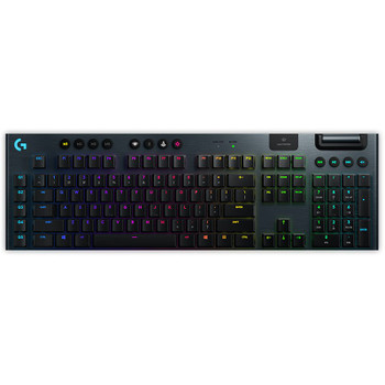 Product image for Logitech G915 LIGHTSPEED Wireless RGB Mechanical Gaming Keyboard - GL Tactile | AusPCMarket Australia