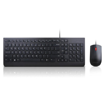 Product image for Lenovo Essential Wired Keyboard and Mouse Combo | AusPCMarket Australia