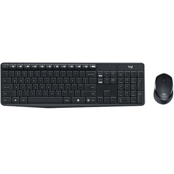 Logitech MK315 Quiet Wireless Keyboard and Mouse Combo Product Image 2