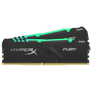 Image for Kingston HyperX Fury RGB 16GB (2x 8GB) DDR4 2666MHz Memory AusPCMarket