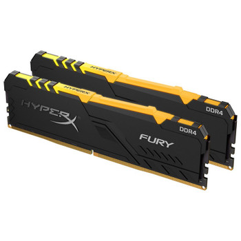 Image for Kingston HyperX Fury RGB 32GB (2x 16GB) DDR4 2666MHz Memory AusPCMarket