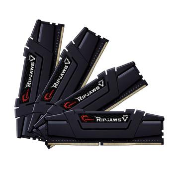 Image for G.Skill Ripjaws V 32GB (4x 8GB) DDR4 3600MHz CL18 Memory - Black AusPCMarket