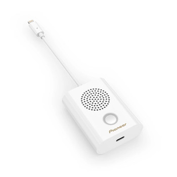 Image for Pioneer Rayz Rally Mobile Conference Speaker for Apple iPhone - Ice AusPCMarket