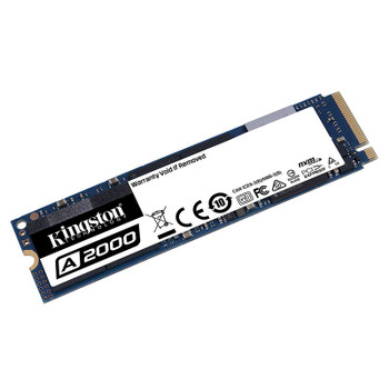 Kingston A2000 500GB M.2 (2280) PCIe NVMe SSD Product Image 2
