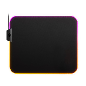Image for SteelSeries QcK Prism Cloth RGB Gaming Mouse Pad - Medium AusPCMarket