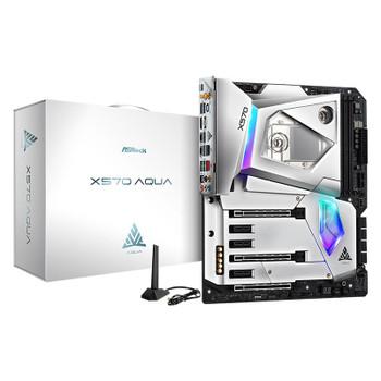 Image for ASRock X570 Aqua Liquid Cooled RGB AM4 E-ATX Motherboard AusPCMarket