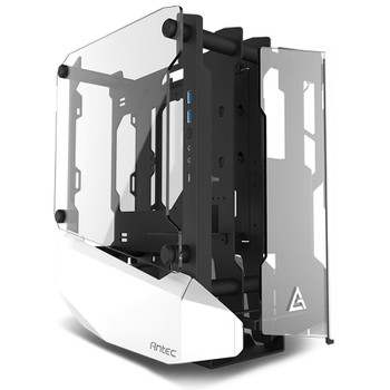 Image for Antec Striker Tempered Glass Open Frame Mini-ITX Case - White AusPCMarket