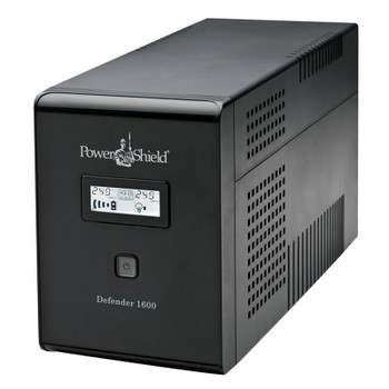 Image for PowerShield Defender Line Interactive UPS 1600VA 960W AVR Australian Outlets AusPCMarket