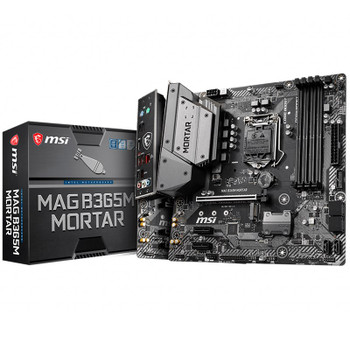 Image for MSI MAG B365M MORTAR LGA 1151 Micro-ATX Motherboard AusPCMarket