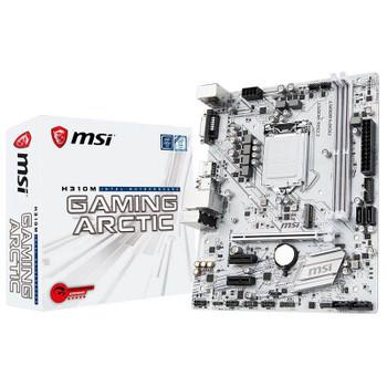 Image for MSI H310M GAMING ARCTIC LGA 1151-2 Micro ATX Motherboard AusPCMarket