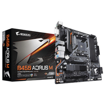 Image for Gigabyte AORUS M B450 AM4 M-ATX Motherboard AusPCMarket