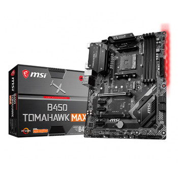 Image for MSI B450 Tomahawk MAX AM4 ATX Motherboard AusPCMarket