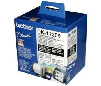 Image for Brother DK-11209 Address labels 29mm x 62mm 800 Labels AusPCMarket