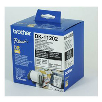 Image for Brother DK11202 White Label 300 per roll AusPCMarket