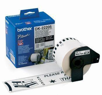 Image for Brother DK22205 White Roll 62mm x 30.48 metres AusPCMarket