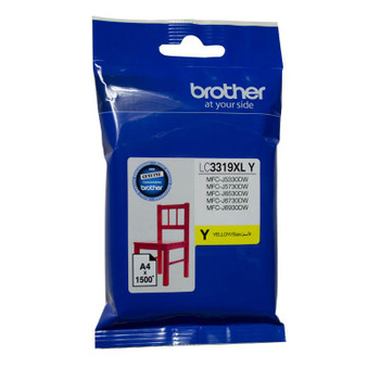 Image for Brother LC-3319XLY Yellow Super High Yield Ink-jet Cartridge AusPCMarket