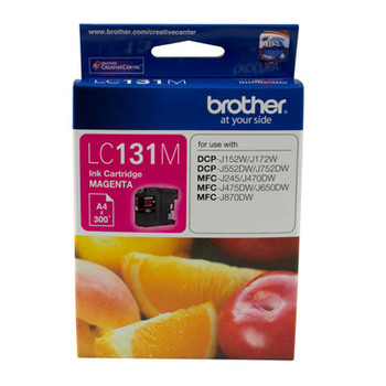 Image for Brother LC131 Magenta Ink Cart up to 300 pages Magenta AusPCMarket